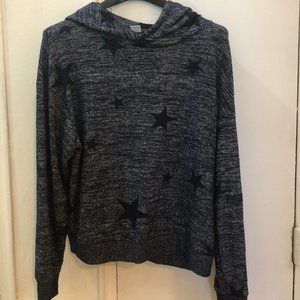 Blue GAP Sweater With Black Stars